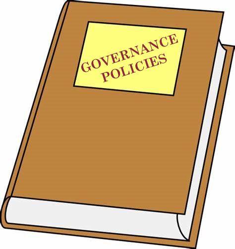 Governance Policies book
